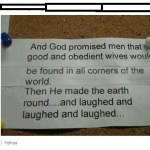 God's Sense of Humor