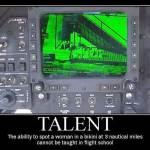 You Don't Learn That in Flight School