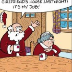 Mrs. Claus is Still Angry