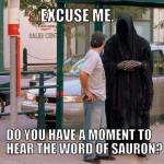 Religious Zealots from Middle Earth