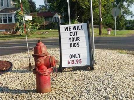 WE WILL CUT YOUR KIDS - ONLY $12.95