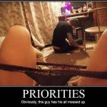 Lack of Priorities