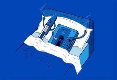 Cassette Tape and a Bic Pen Have a Cigarette