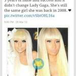 Lady Gaga = Nicki Minaj?