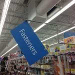 Home Improvement Supplies Suck at WalMart