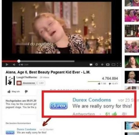 """Durex Comments on Honey BooBoo: """"We are really sorry for this."""""""