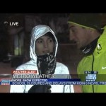 Ironic Media Interview with Jogger