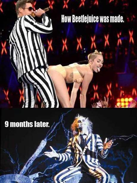 How Beetlejuice was made... 9 months later...