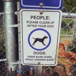Signs for Humans & Canines
