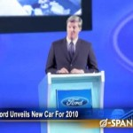Ford Releases Consumer-Friendly Car for 2010