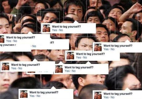 "Facebook Facial Recognition: ""Want to tag yourself?"""