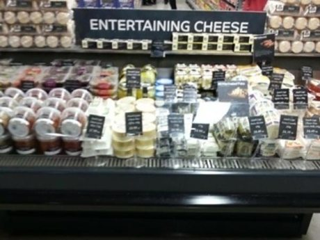 Entertaining Cheese
