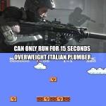 Video Game Logic: Running