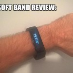 Review: The Microsoft Band Personal Fitness Tracker