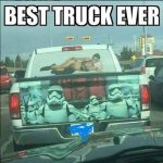 Stormtrooper Truck Can't Hit Anything