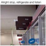 Ice, Ice, Pastry