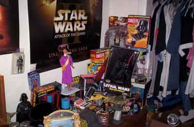 Yeah that is a Graduation Barbie... she is macking on Vader