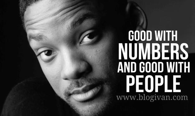 Good with Numbers, Good with People [Jago Berhitung dan Pintar Bergaul]