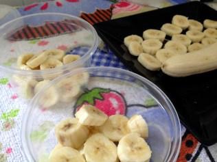 Como congelar bananas - Blog Izabela Silva