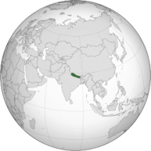 Nepal_(orthographic_projection).svg