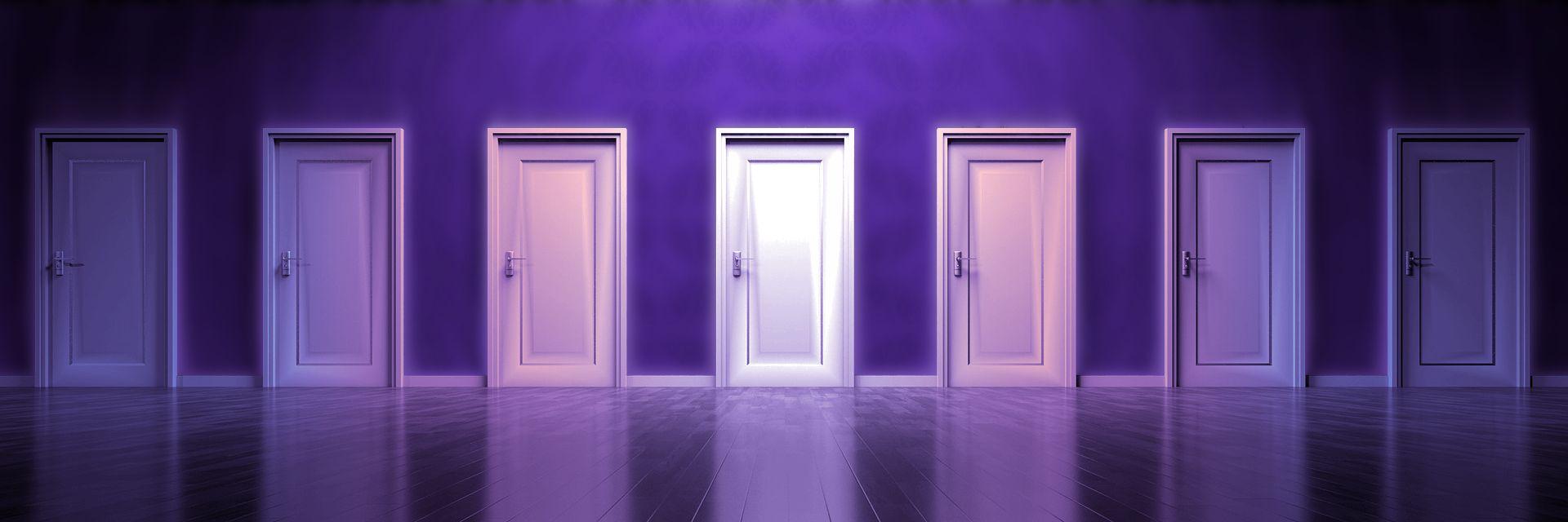 sen - labirynt drzwi