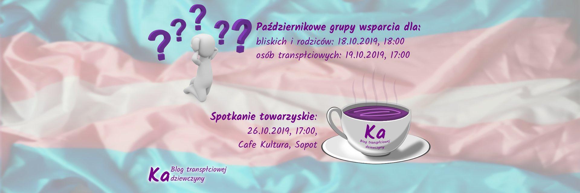 grupa wsparcia, spotkanie towarzyskie październik 2019