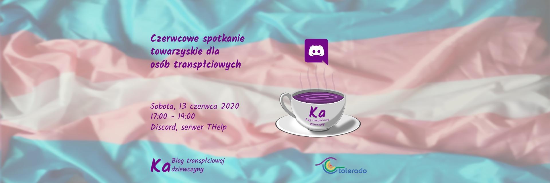 Czerwcowe spotkanie dla osób transpłciowych 2020