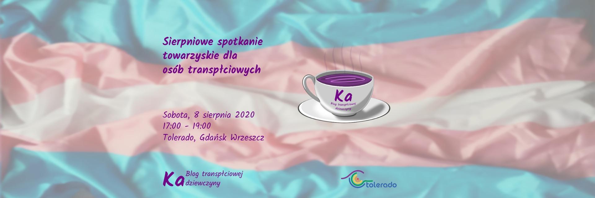Sierpniowe spotkanie towarzyskie dla osób transpłciowych 2020