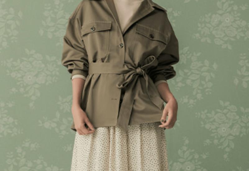 guオーバーサイズシャツジャケット