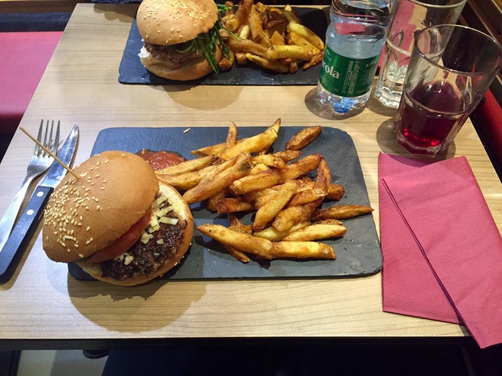 Le pied de mammouth burger strasbourg 2016
