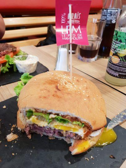 le pied de mammouth esplanade burger