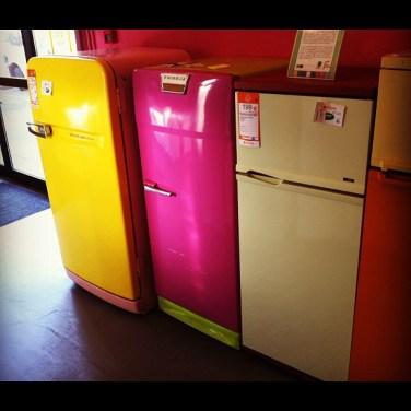 Galerie de frigos chez ENVIE Strasbourg
