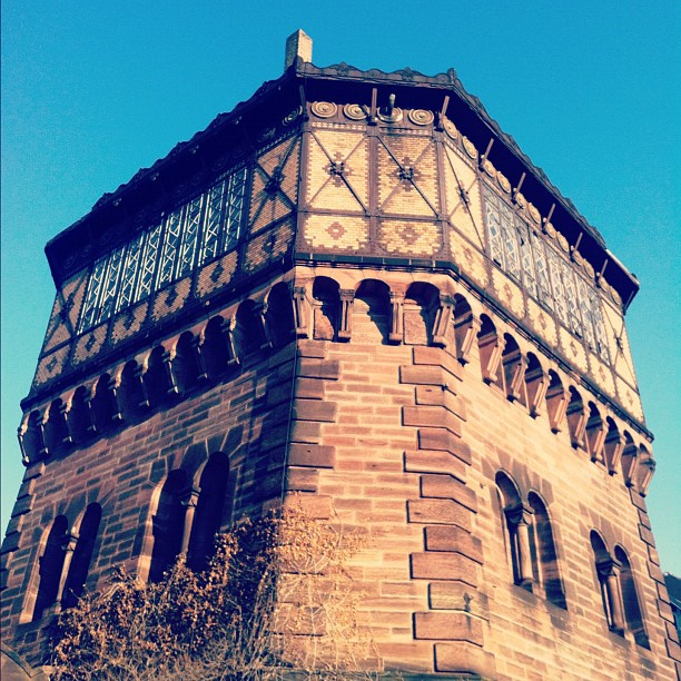 Ancien chateau d'eau à la Porte Blanche Strasbourg