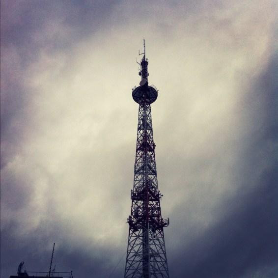 Antenne de France 3 Alsace dans la brûme