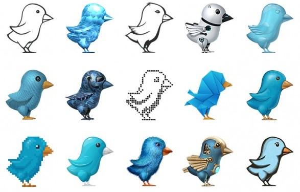 dessins oiseaux Twitter