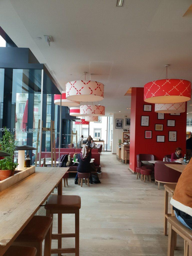 Vapiano Strasbourg restaurant italien pizza self service place des halles