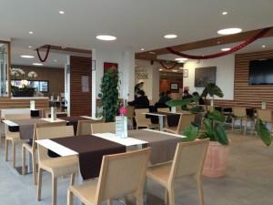 Salle du restaurant Manicook