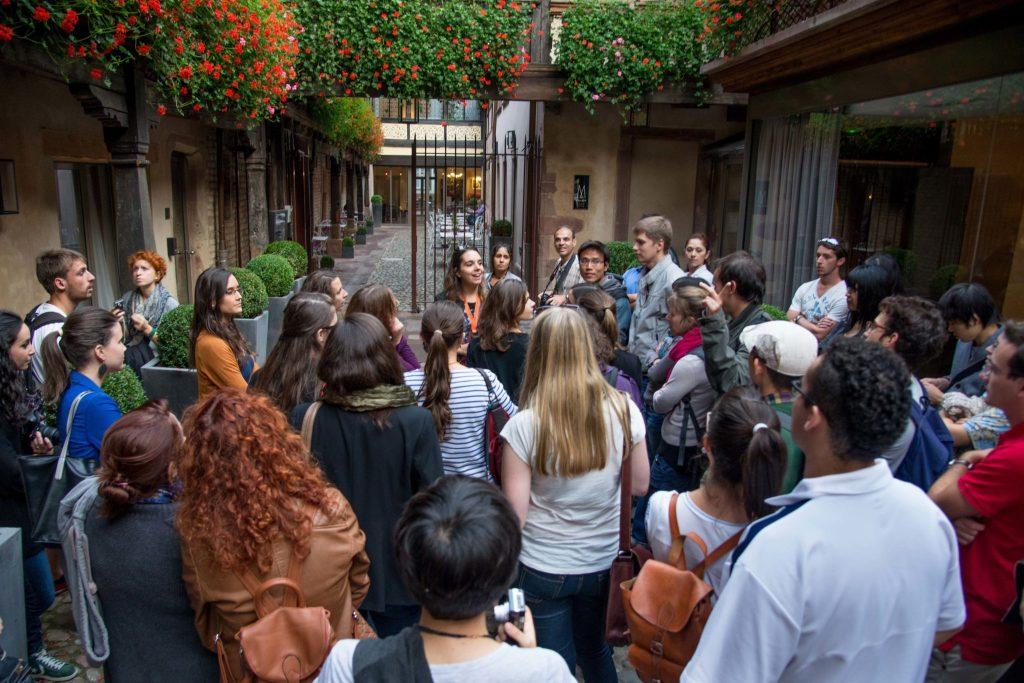 Strasbourg aime ses étudiants avec Virginie Holm