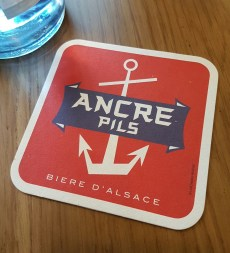 Petite cantoche restaurant Strasbourg plat du jour tribunal fosse des treize Ancre bière