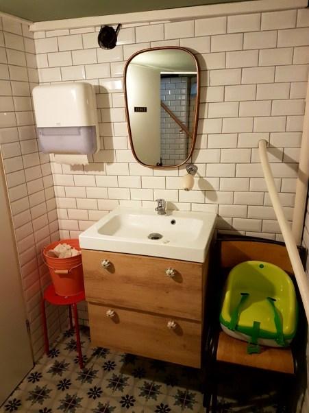 Petite cantoche restaurant Strasbourg plat du jour tribunal fosse des treize nouvelle décoration WC