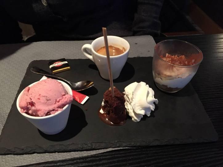 italien du coin café gourmand