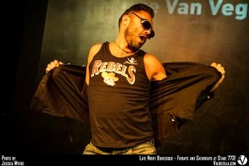 Vince Van Vegas boylesque des Pin Up Alsace