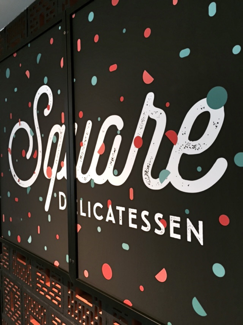 logo SQUARE Delicatessen pizza Strasbourg Little Italy
