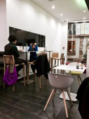 Resto Sushi's au centre ville de Strasbourg salle