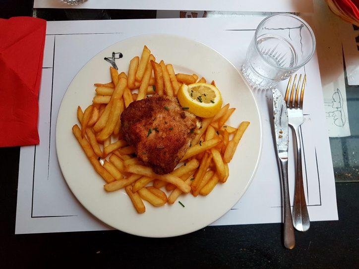 Le Troquet des Kneckes brasserie plat du jour Strasbourg Grand Rue