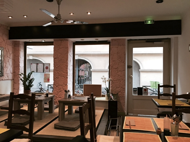 Matsumotoya restaurant japonais strasbourg rue des veaux for Mobilier japonais strasbourg