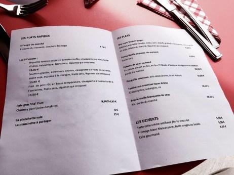 Sha'Com O Resto Shadok restaurant Strasbourg menu