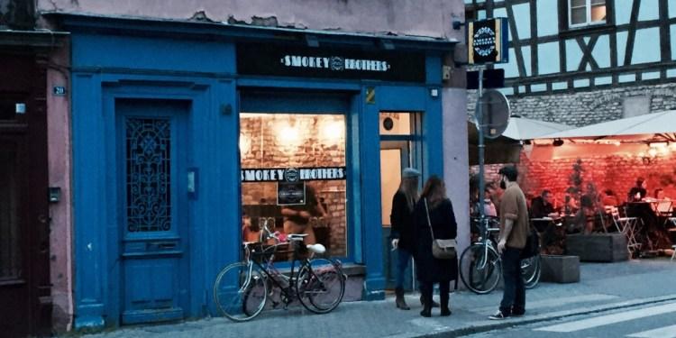 SMOKEY BROTHERS Strasbourg pastrami krutenau façade