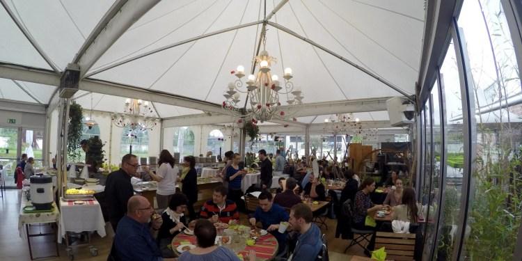 Villa Schmidt brunch Strasbourg dimanche jardin 2 rives salle service