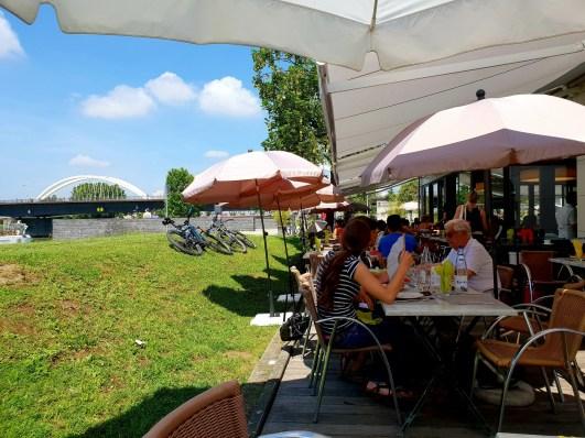 villa schmidt brunch Kehl Strasbourg terrasse